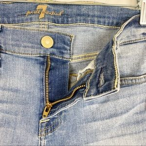 7 For All Mankind Shorts - 7 For All Mankind Roll Up Shorts in Willow Ridge